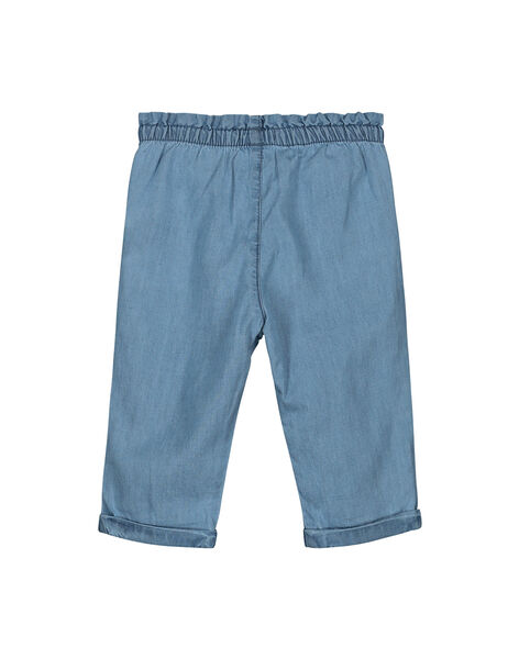 Baby girls' denim trousers FINEPAN / 19SG09B1PAN721