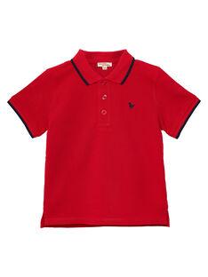 Red Polo shirt JOJOPOL3 / 20S90251D2DF505