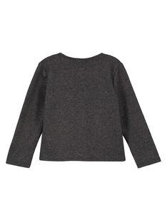 Dark grey Cardigan GAJOFCAR2 / 19W901L6D3C944
