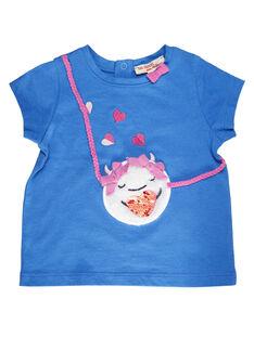 Blue T-shirt GIBLETIEX / 19WG0992TMCC232