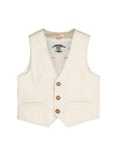 Brown Sleeveless Jacket FOPOGSM / 19S902C1GSMI811