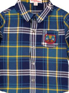 Navy Shirt GUMUCHEM / 19WG10F1CHM070