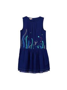Girls' elegant dress FANEROB2 / 19S901B2ROB703