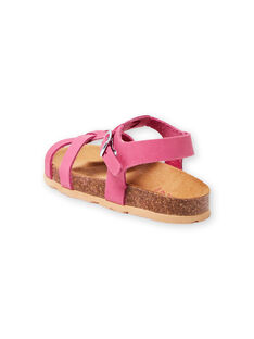 Pink sandals baby girl LFNUROSE / 21KK355SD0E030