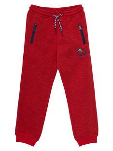 Heather red pants JOGRAPAN1 / 20S902E2PANF520