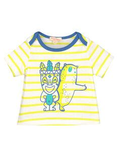 Baby boys' short-sleeved T-shirt FUCUTI3 / 19SG10N3TMC099