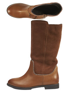 Light brown Boots GFBOTTEMEL / 19WK35X4D10804