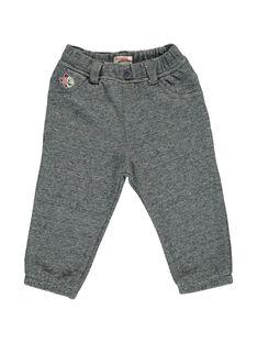Baby boys' fleece trousers CUBENPAN2 / 18SG10G1PAN099