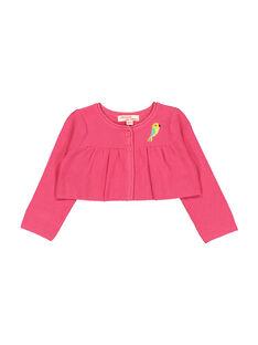 Baby girls' wool bolero cardigan FICACAR1 / 19SG09D1CAR302