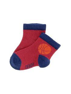 Baby boys' mid length socks CYUJOCHO3A / 18SI10R5SOQ050