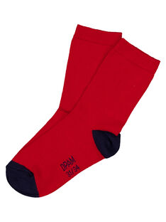 Red Socks GYOJOCHO2 / 19WI0242SOQF508