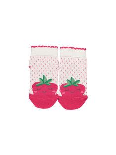 Baby girls' fancy socks FYIYECHO / 19SI09M1SOQ001