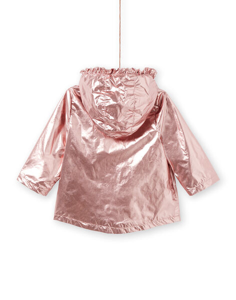 Copper pink parka baby girl LIFANPARK / 21SG09R1PAR030