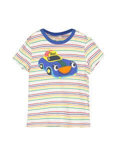 Boys' short-sleeved T-shirt FOCOTI3 / 19S90283TMC099