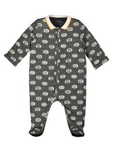 Unisex babies' sheep sleepsuit GOU1GRE3 / 19WF0513GRE929