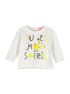 Baby boys' long-sleeved T-shirt FULITEE2 / 19SG1022TML000