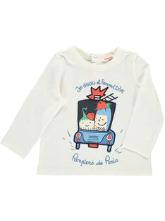 Baby boys' long-sleeved T-shirt CUKLETEE1 / 18SG10D3TML001