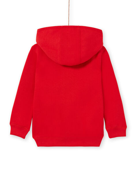 Jogging top - child boy - red LOJOJOH4 / 21S90243JGH050