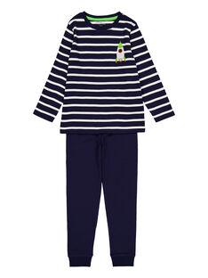 Navy Pajamas GEGOPYJBASI / 19WH1259PYJ070