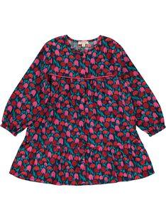 Girls' long-sleeved tablier DYATAB1 / 18WI0191TAB099