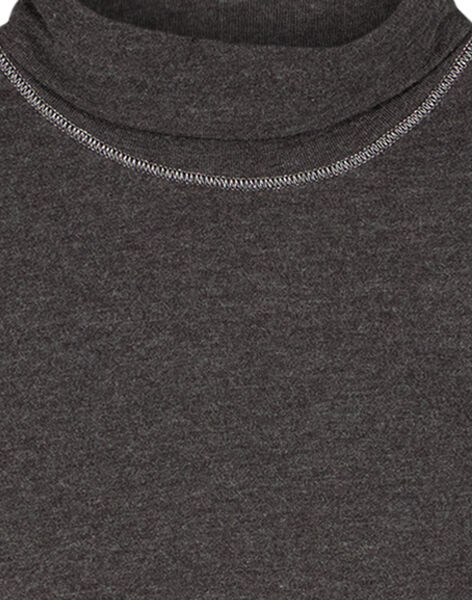 Dark grey under-sweater GAJOSOUP3 / 19W901L6D3B944