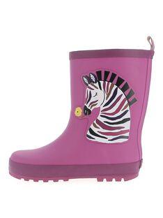 Purple Rain boots DFBPZEBR / 18WK35V3D0C708
