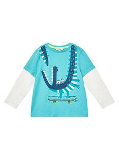 Medium turquoise T-shirt JOCLOTEE1 / 20S90211TML209