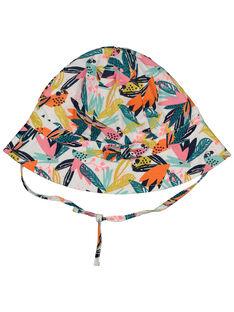 Baby girls' tropical hat FYICUCHA / 19SI09N1CHA000