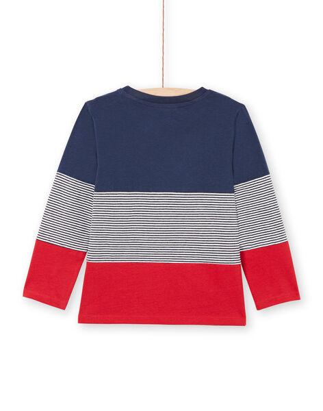 Boy's Navy & Red T-Shirt MOJOTIDEC1 / 21W90229TML705