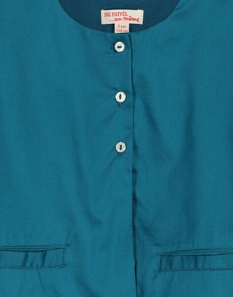 Girls' short-sleeved cardigan FABELCARDI / 19S901R1CAR616