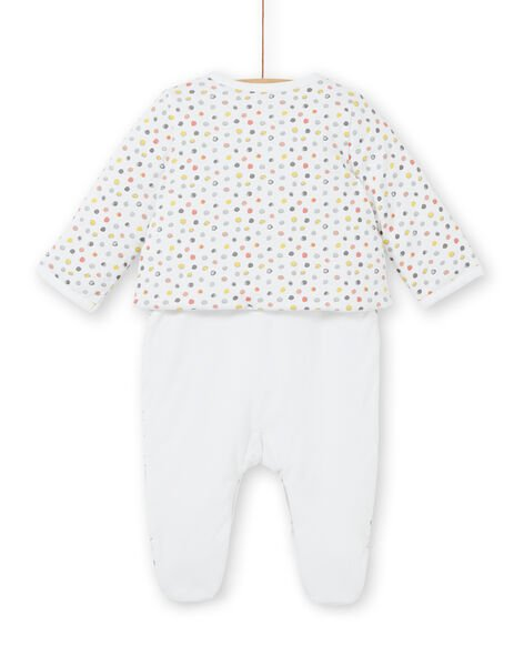 Padded jersey set all softness mixed birth LOU1ENS6 / 21SF05H2ENS000