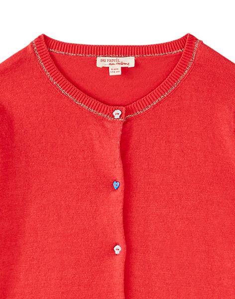 Red Cardigan JACEACAR / 20S901N1CARF506