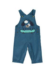 Baby boys' dungarees CUHOSAL / 18SG10E1SAL622