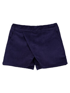 Navy Shorts GAMUSHORT / 19W901F1SHO070