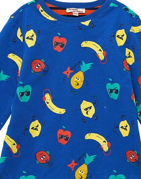 Blue T-shirt JOVITEE3 / 20S902D3TML703