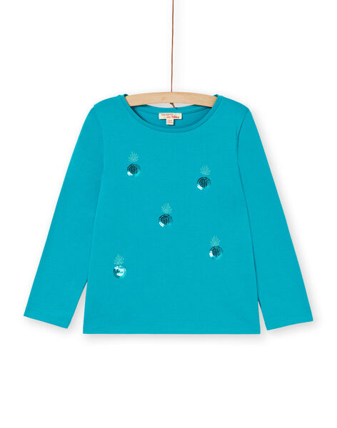 Blue T-shirt LAJOTEE4 / 21S90133D32C216
