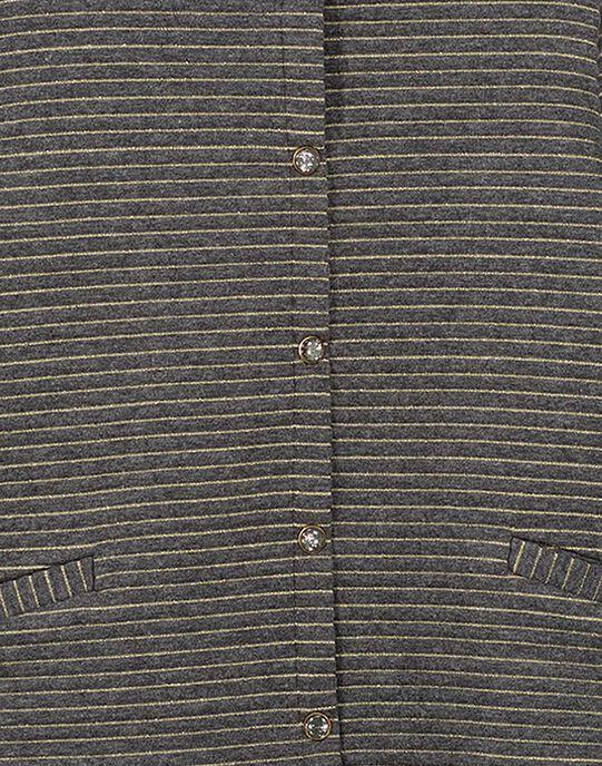 Dark grey Cardigan GAJOCARM3 / 19W90145D3C944
