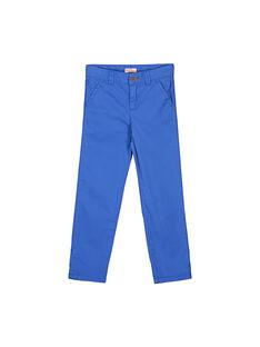 Boys' chino trousers FOJOCHINO2 / 19S90232D2BC212