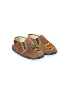 Light brown SLIPPERS KGSGVEGAN / 20XK3683D0B803