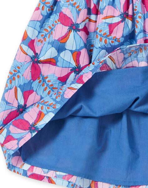 Blue SKIRT LABLEJUP1 / 21S901J1JUPC208