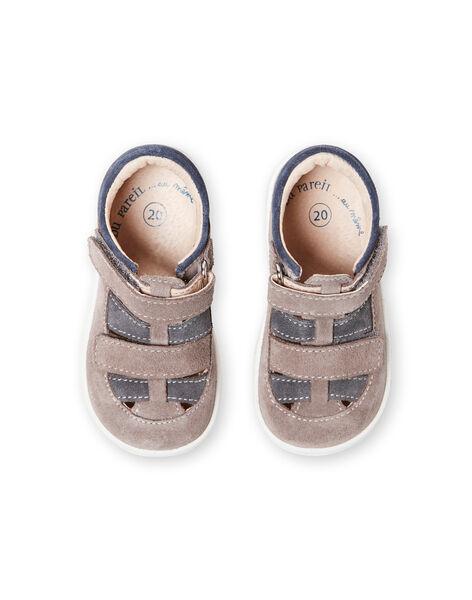 Baby boy grey sandals LBGSALGREY / 21KK3831D13940
