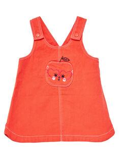 Orange Dress JIVIROB2 / 20SG09D2ROBE400