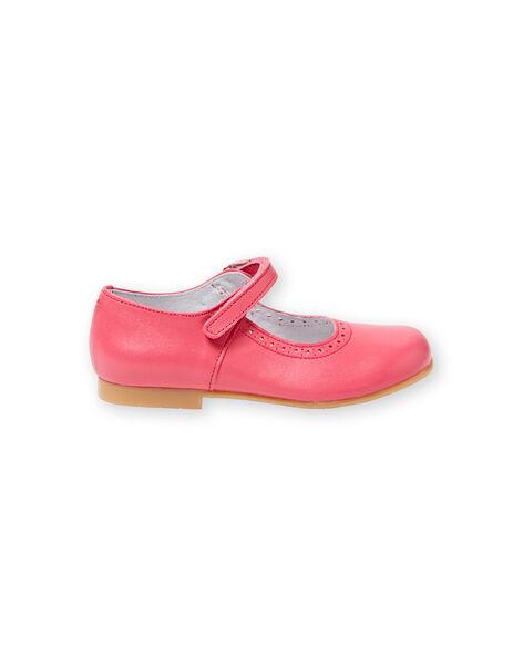Fuchsia sandals baby girl LFBABSONIAF / 21KK3531D13304