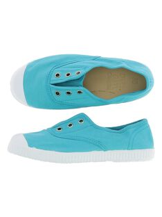 Girls' canvas trainers CFTENHERB3 / 18SK35O7D16202