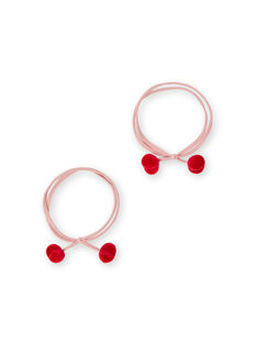 Set of 2 elastic bands for children and girls LYAHAELA / 21SI0171ELAF506