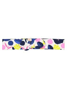 Baby girls' printed headband GYIBLEBAN / 19WI0991BAN001