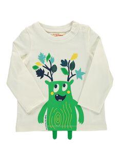 Baby boys' long-sleeved T-shirt DUVETEE2 / 18WG1072TML001