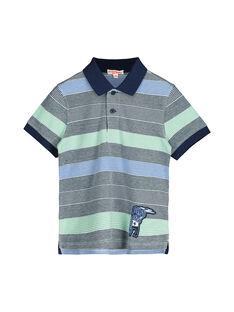 Boys' short-sleeved polo shirt FONEPOL / 19S902B1POL099