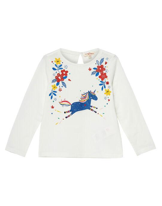 Off white T-shirt JAGRATEE1 / 20S901E2TML001