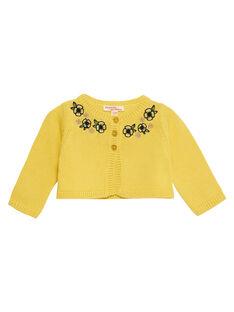 Sunny yellow Cardigan JITROCAR / 20SG09F1CAR102